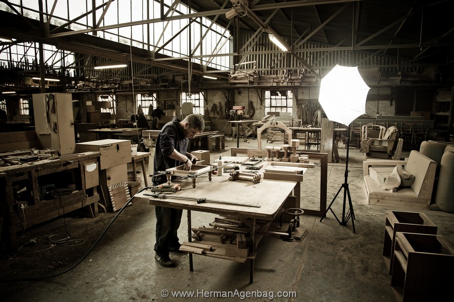 Meyer Ferreira Handcrafted Furniture Factory Production